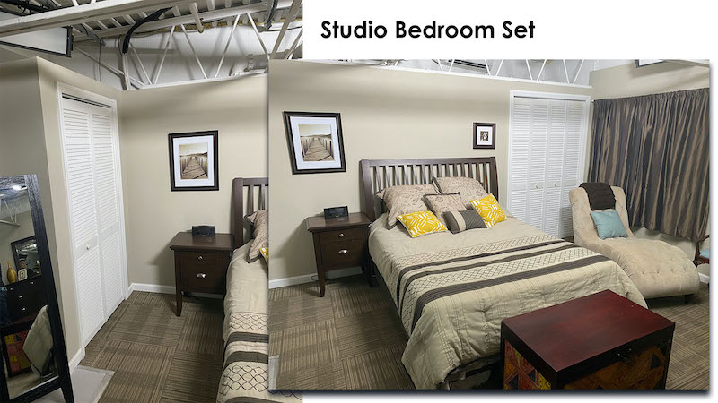 Bedroom Studio Set