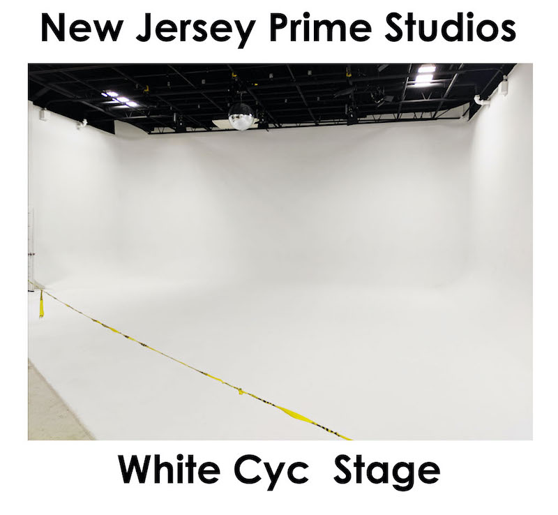 New Jersey Prime Studios - Large White Cyc Drive-In Studio 1