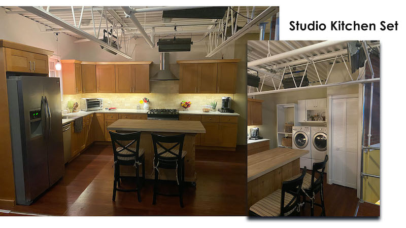 Kitchen Studio Set