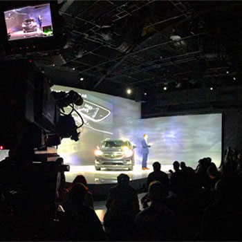 Live Streaming corporate events. Buick.