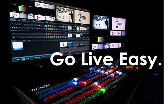 Go Live easy.
