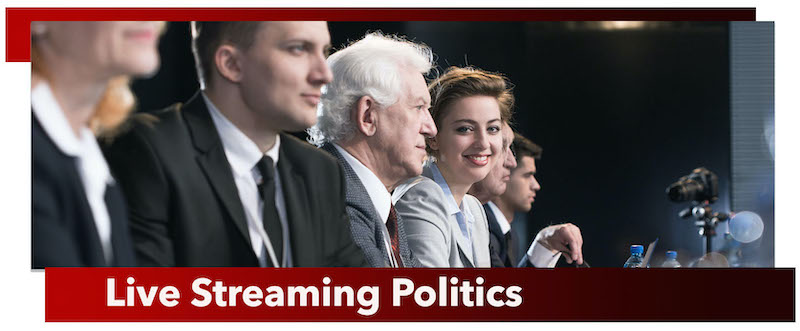Live Streaming Politics