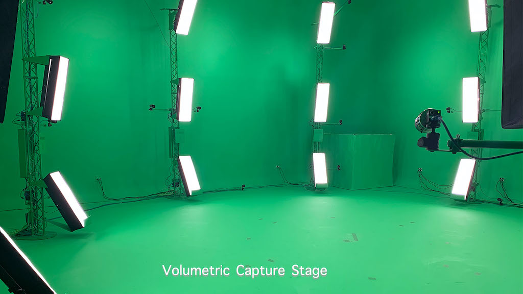 "Volumetric Video Capture ""VolCap"". Studio"
