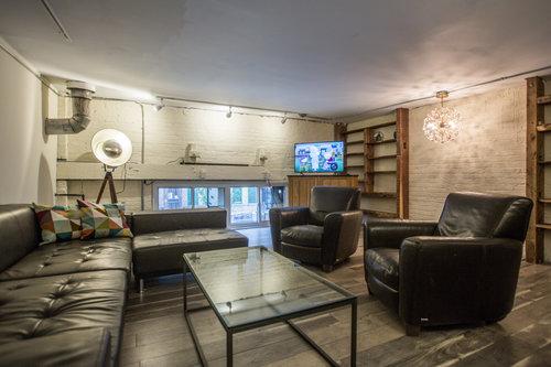 Sofa, chairs