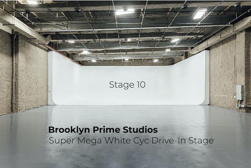 Super Mega White Cyc  Drive-in Stage