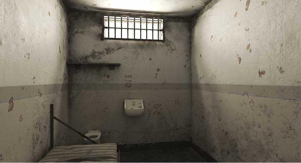 4K/3D Prison Cell Virtual Set 1