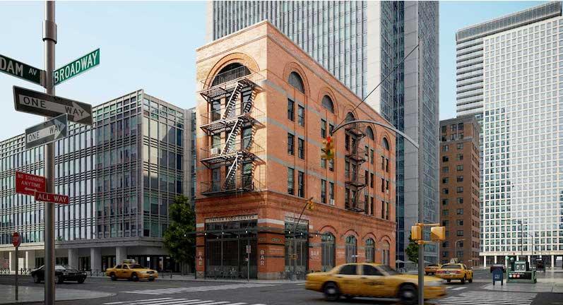 New York City Street 4K/3D Virtual Set 1