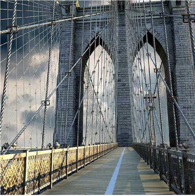 Brooklyn Bridge 4K/3D Virtual Set 7