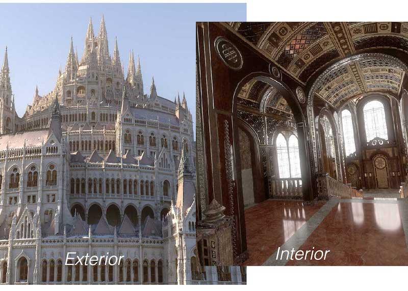 Castle Virtual Set 3D Model