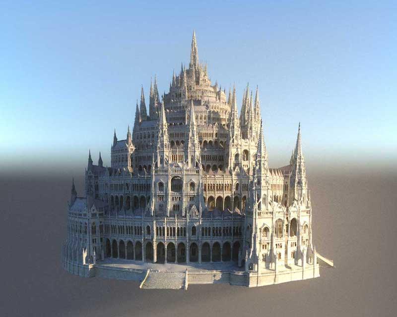 4K/3D Virtual Castle Set 2