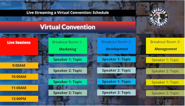 New Enterprise Live Streaming Video Service | 100% Virtual 5