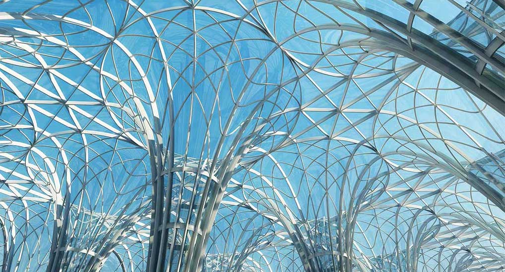 4K/3D Futuristic Arches Virtual Set 3