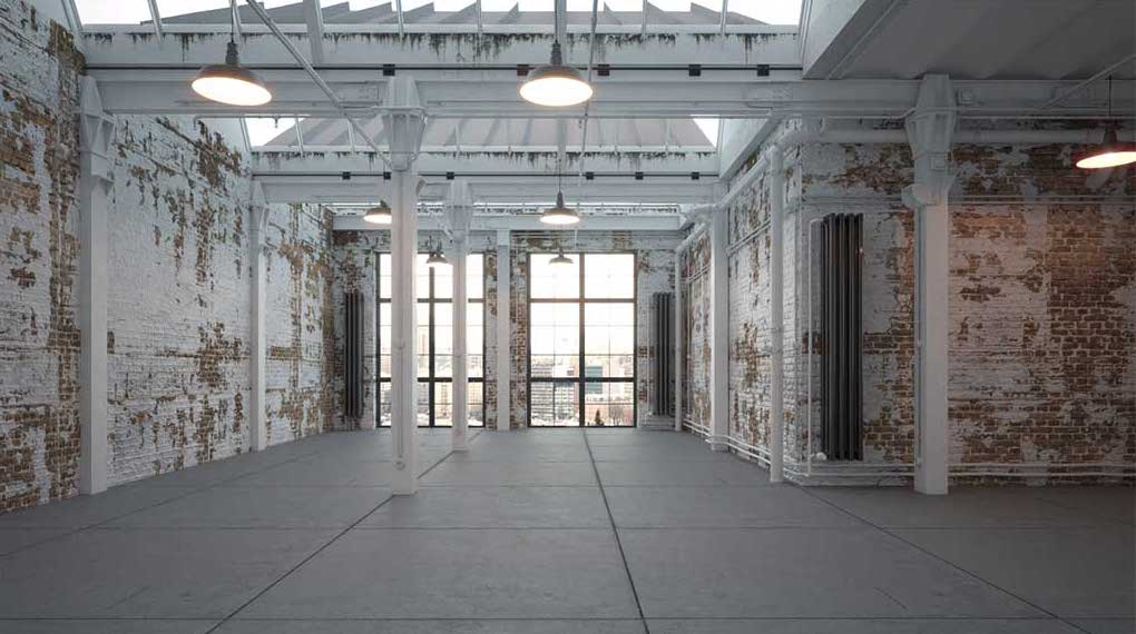 3D/4K Virtual Loft/Warehouse Set 2