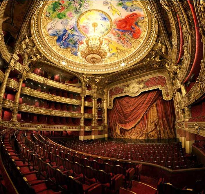 Opera House Virtual Set 3D Model
