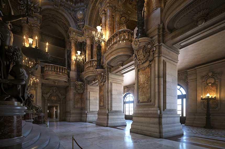 4K/3D Virtual Opera House Set 6