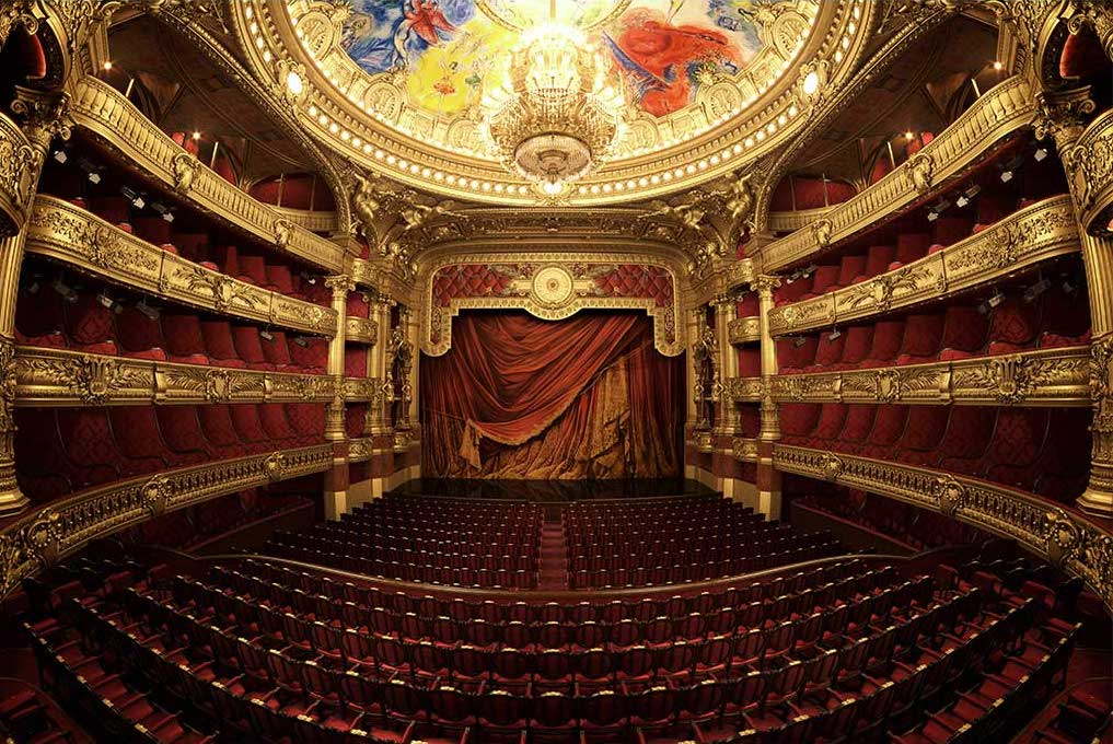 4K/3D Virtual Opera House Set 1