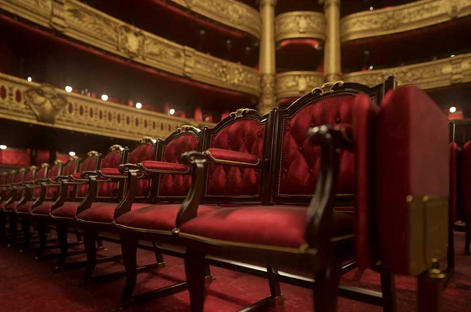 4K/3D Virtual Opera House Set 4