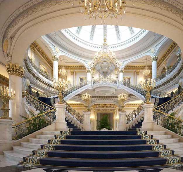 Palace Virtual Set 3D Model