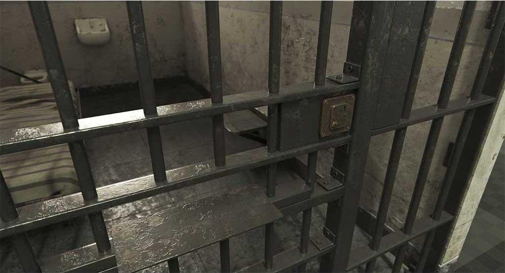 4K/3D Prison Cell Virtual Set 7