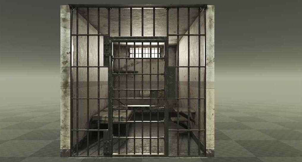 4K/3D Prison Cell Virtual Set 2