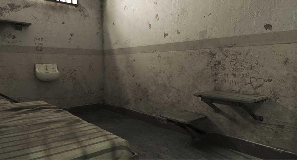 4K/3D Prison Cell Virtual Set 5