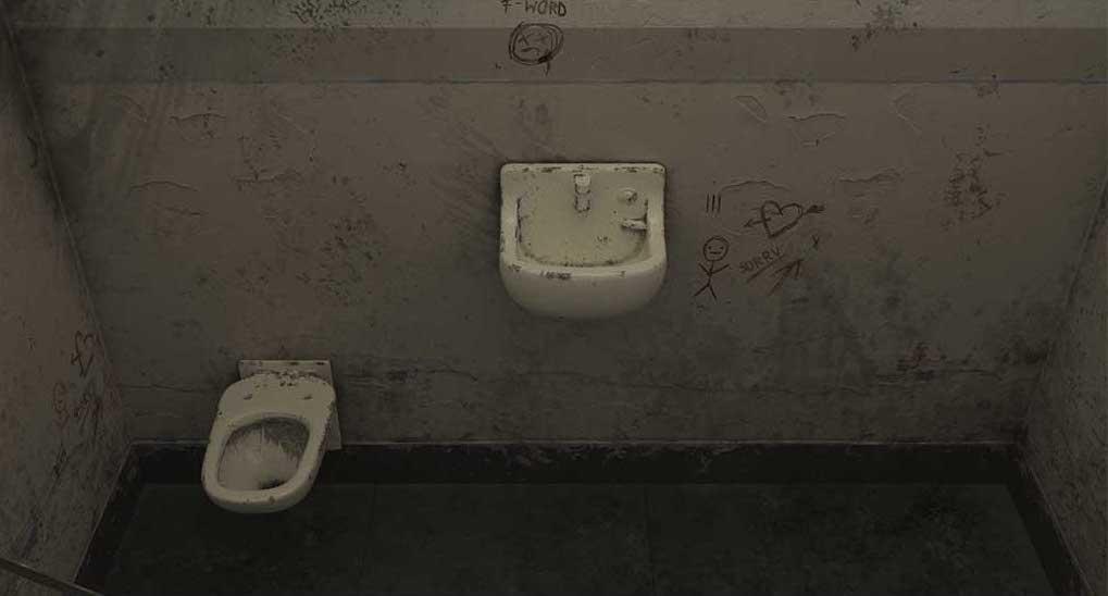 4K/3D Prison Cell Virtual Set 6