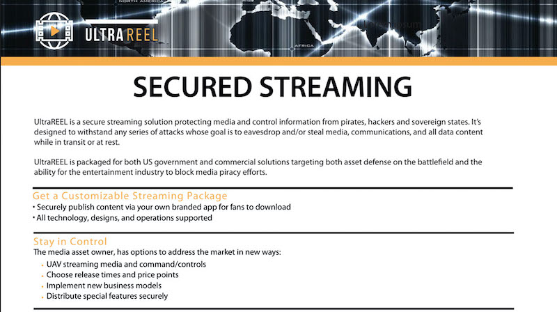 New Enterprise Live Streaming Video Service | 100% Virtual 7