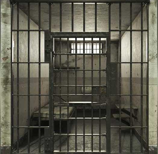 Prison Cell Virtual Set 3D Model