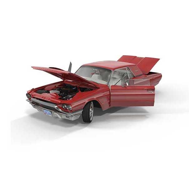 4K/3D Virtual Car 2