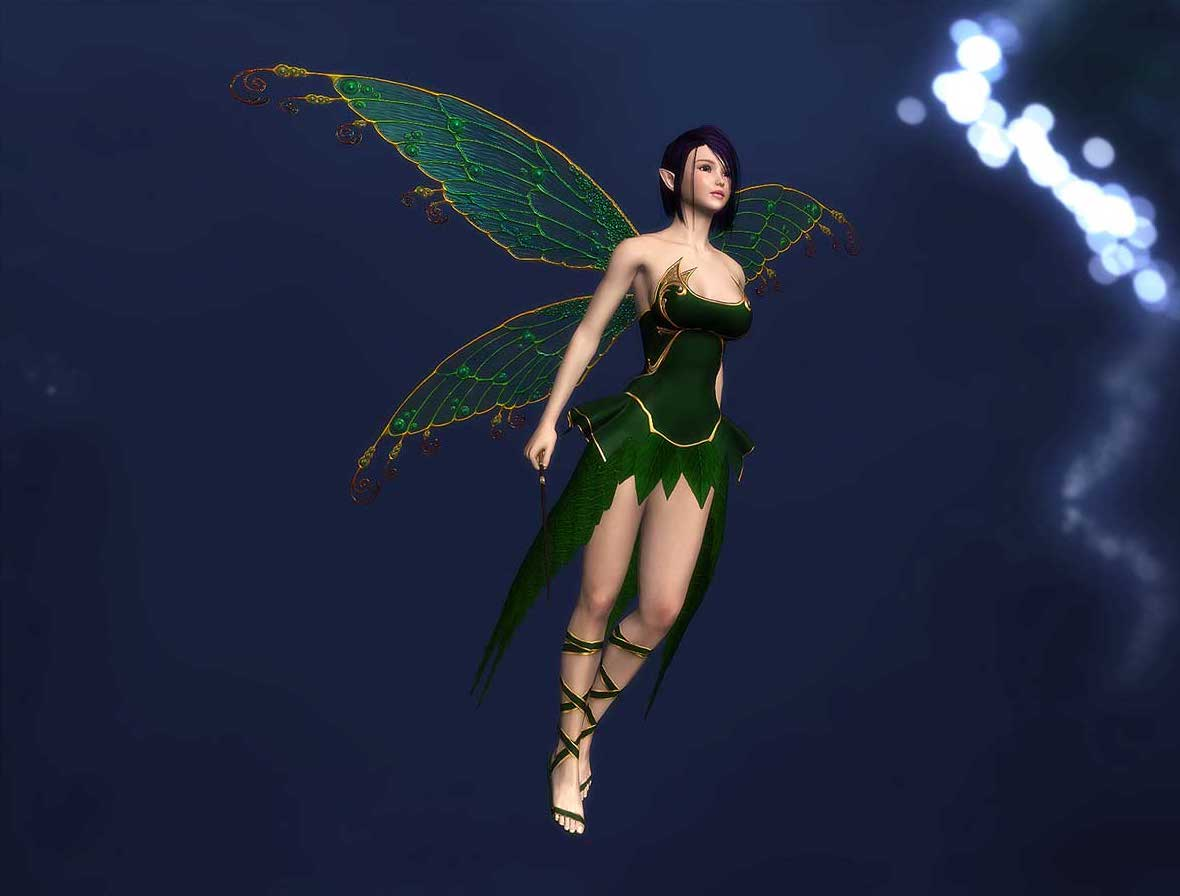 Animated AR Fairy 3