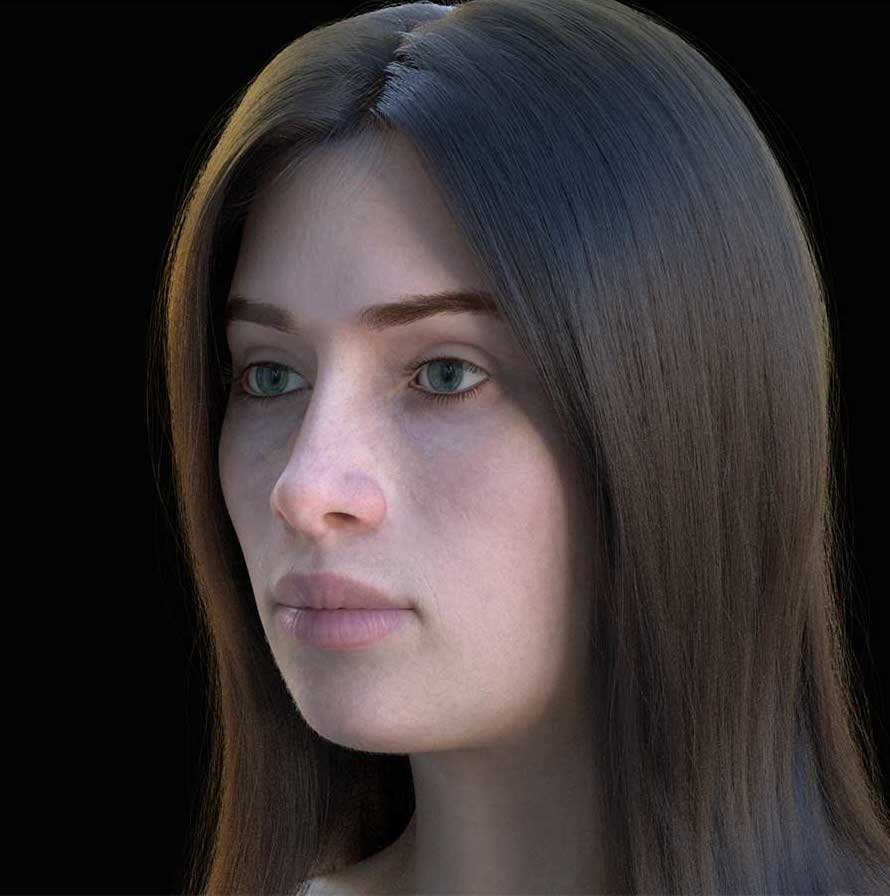 Animated AR Female Character 2
