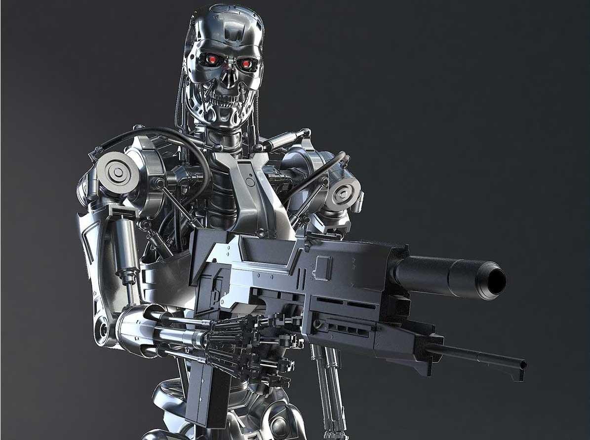 Animated AR Terminator Character 6