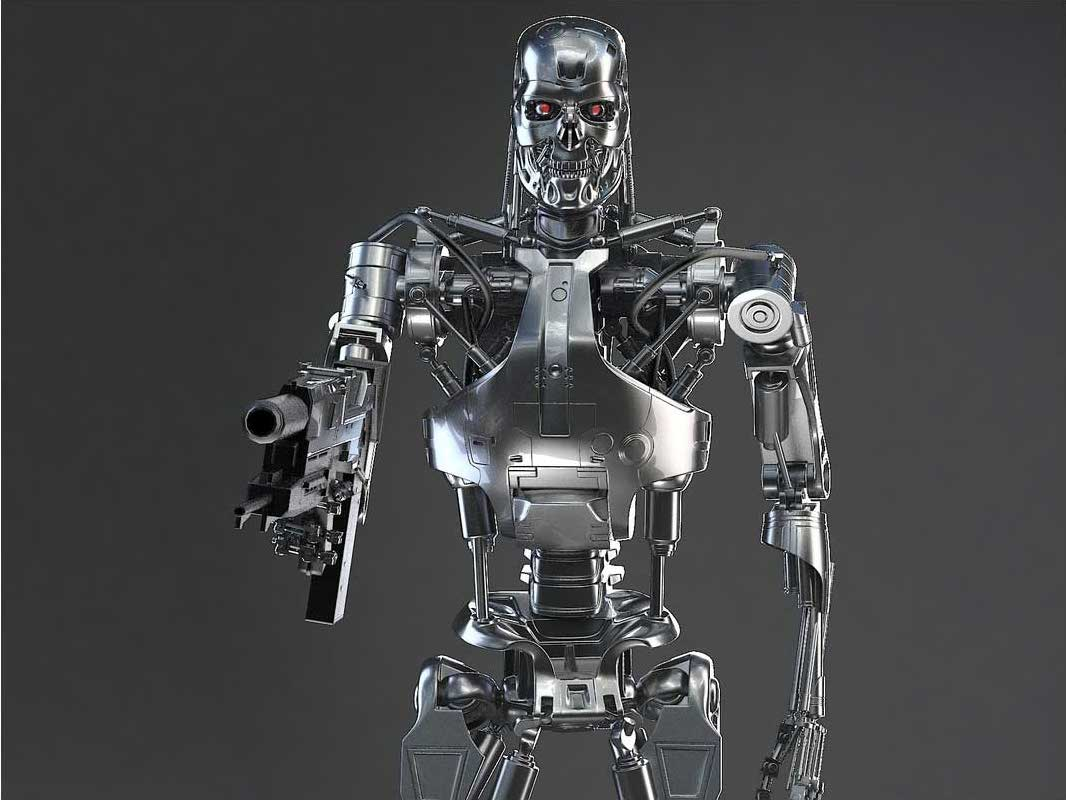 Animated AR Terminator Character 5