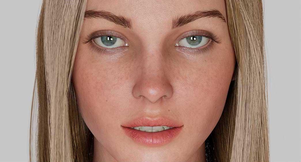 Animated AR Girl Character 4