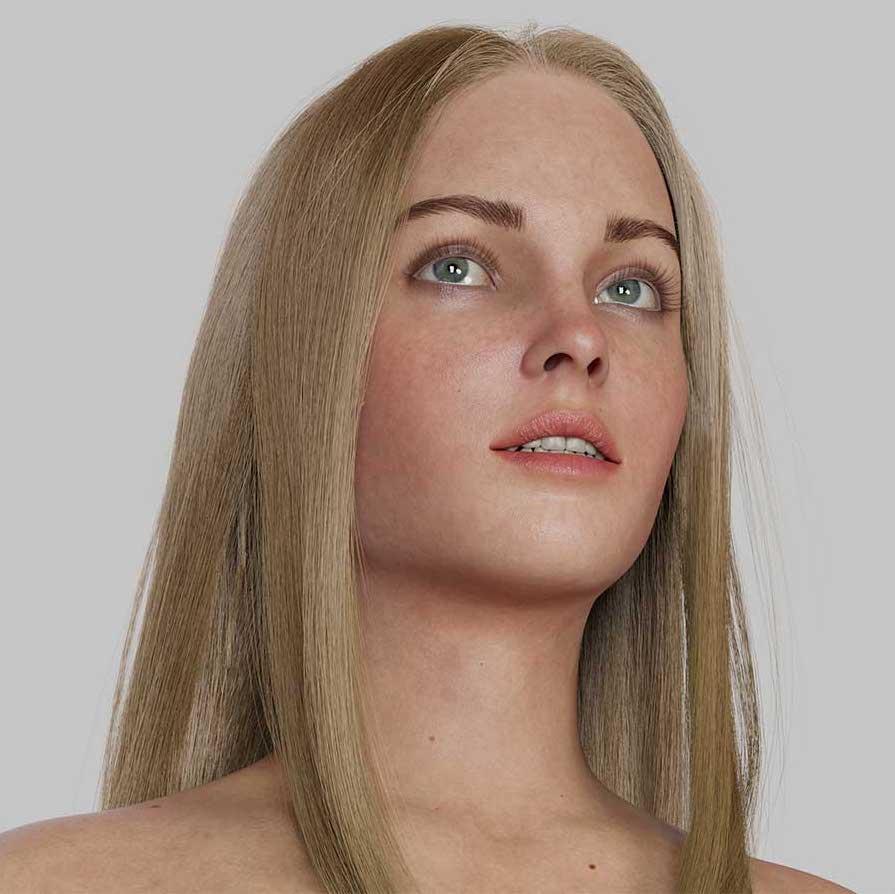 Animated AR Girl Character 1