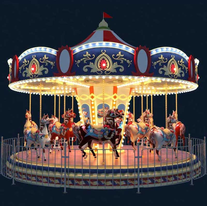 Animated AR Carousel 3
