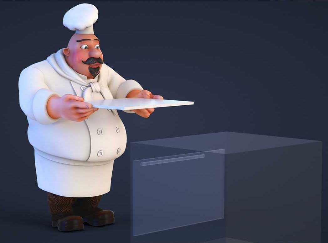 Animated AR Chef Character 6