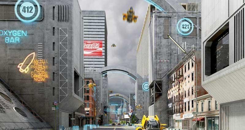 Animated AR Futuristic City 8