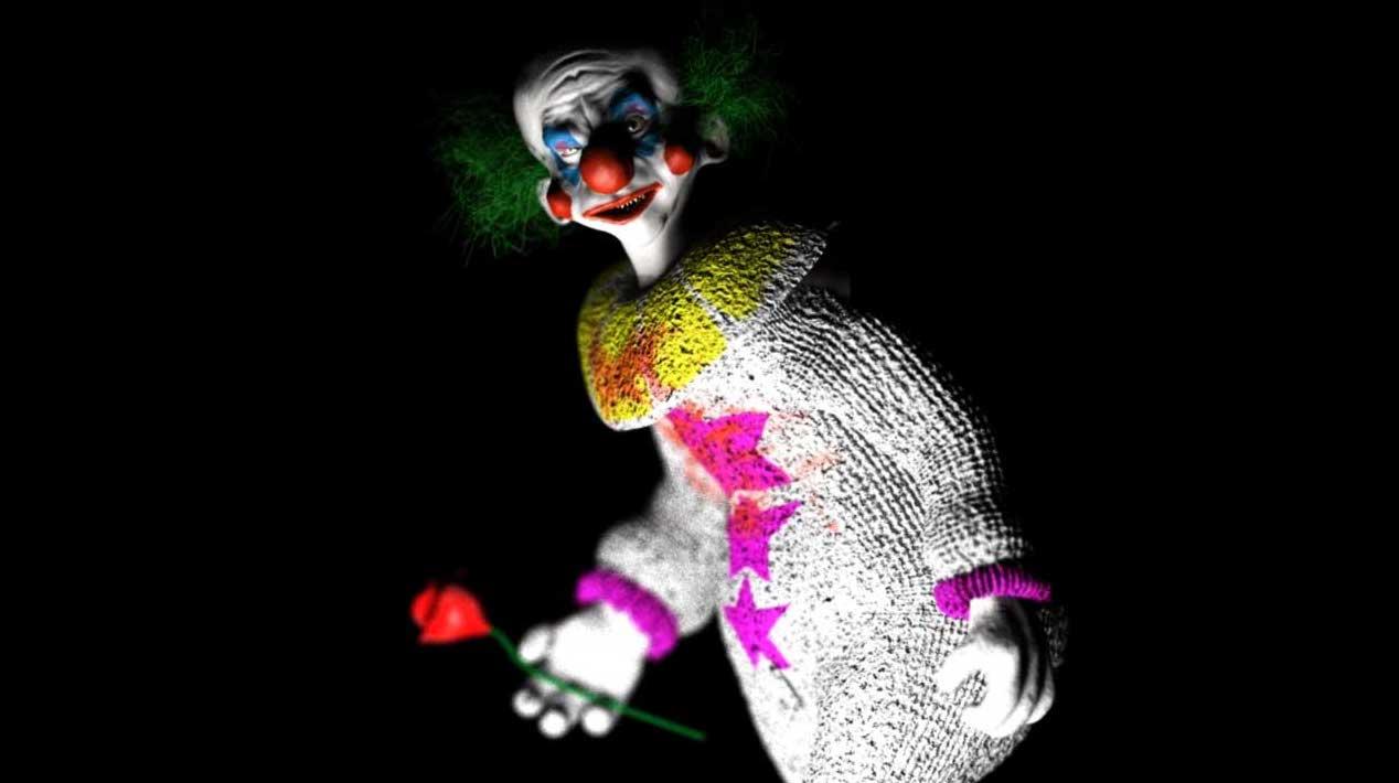 Animated AR Clown Character 3