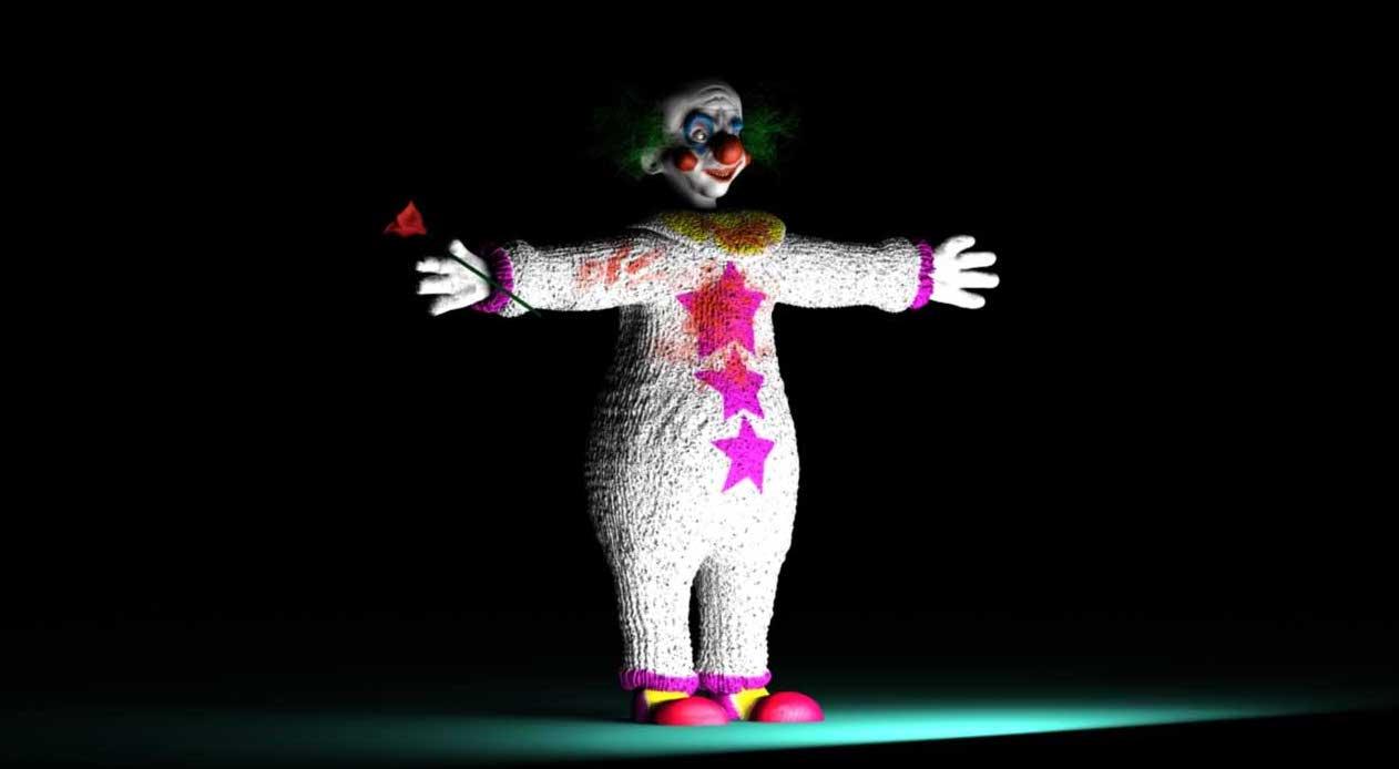 Animated AR Clown Character 5