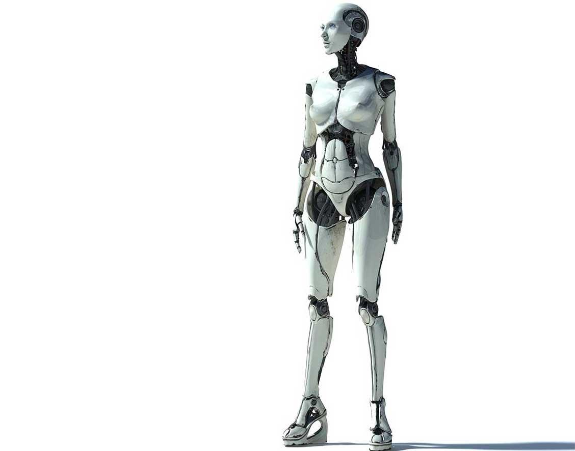 Animated AR Cyborg 2