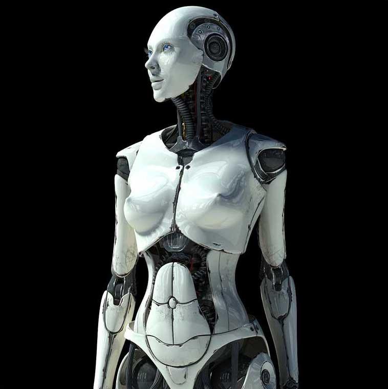 Animated AR Cyborg 1