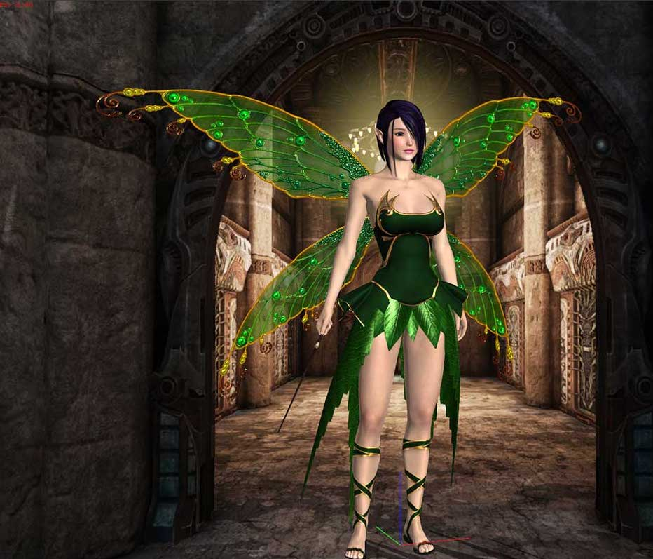 Animated AR Fairy 5