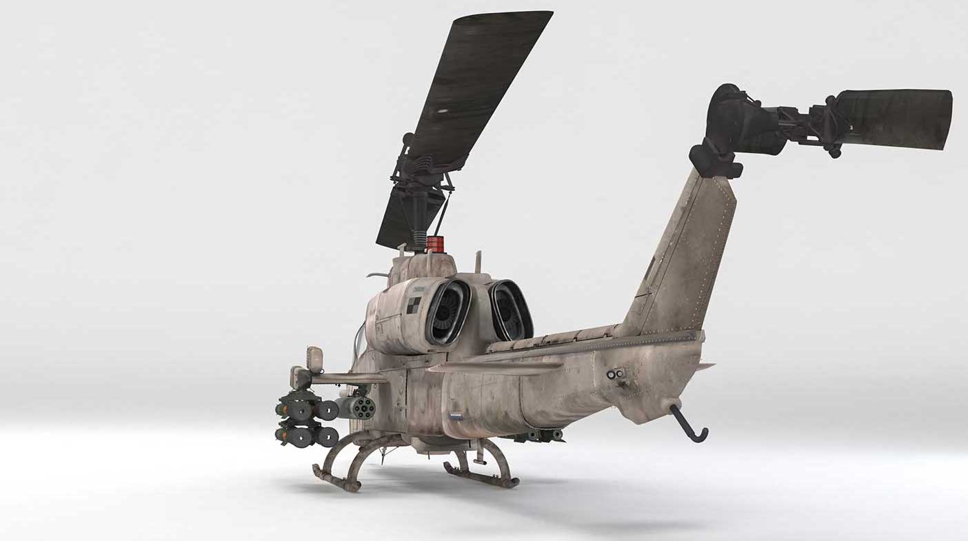 Animated AR Helicopter 2