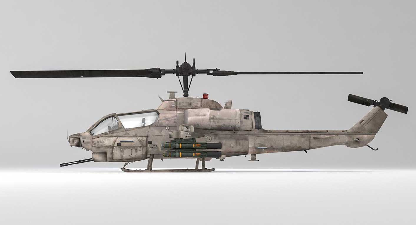 Animated AR Helicopter 1