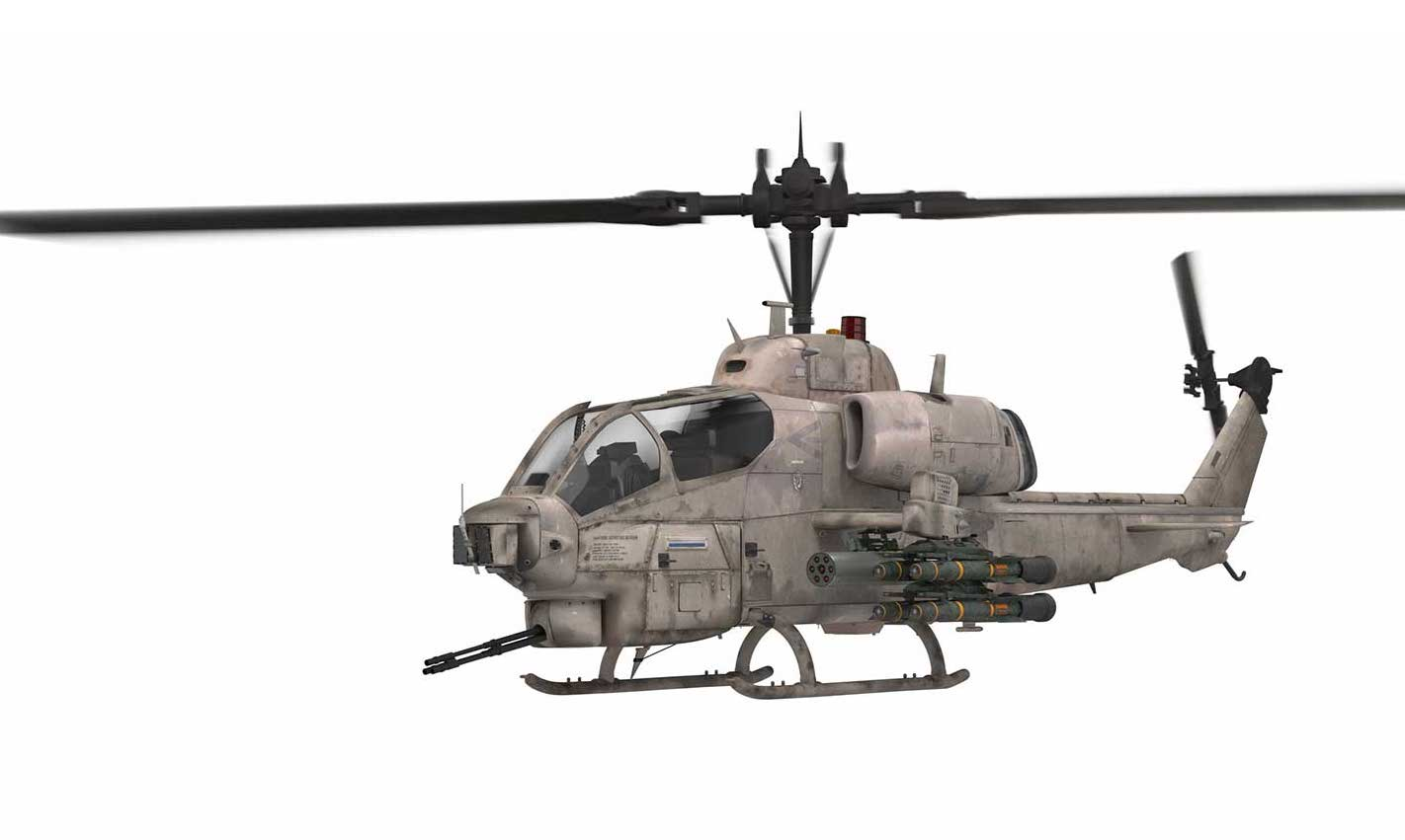Animated AR Helicopter 3