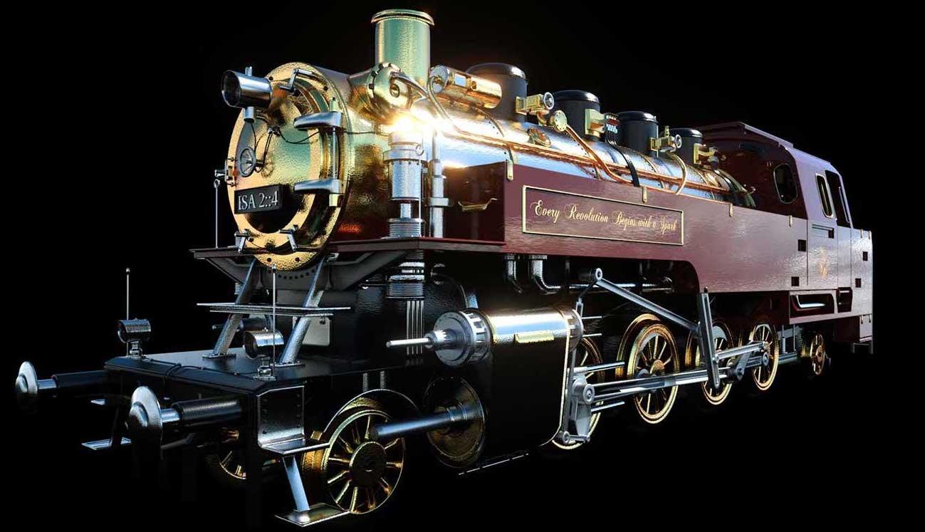 Animated AR Locomotive 1