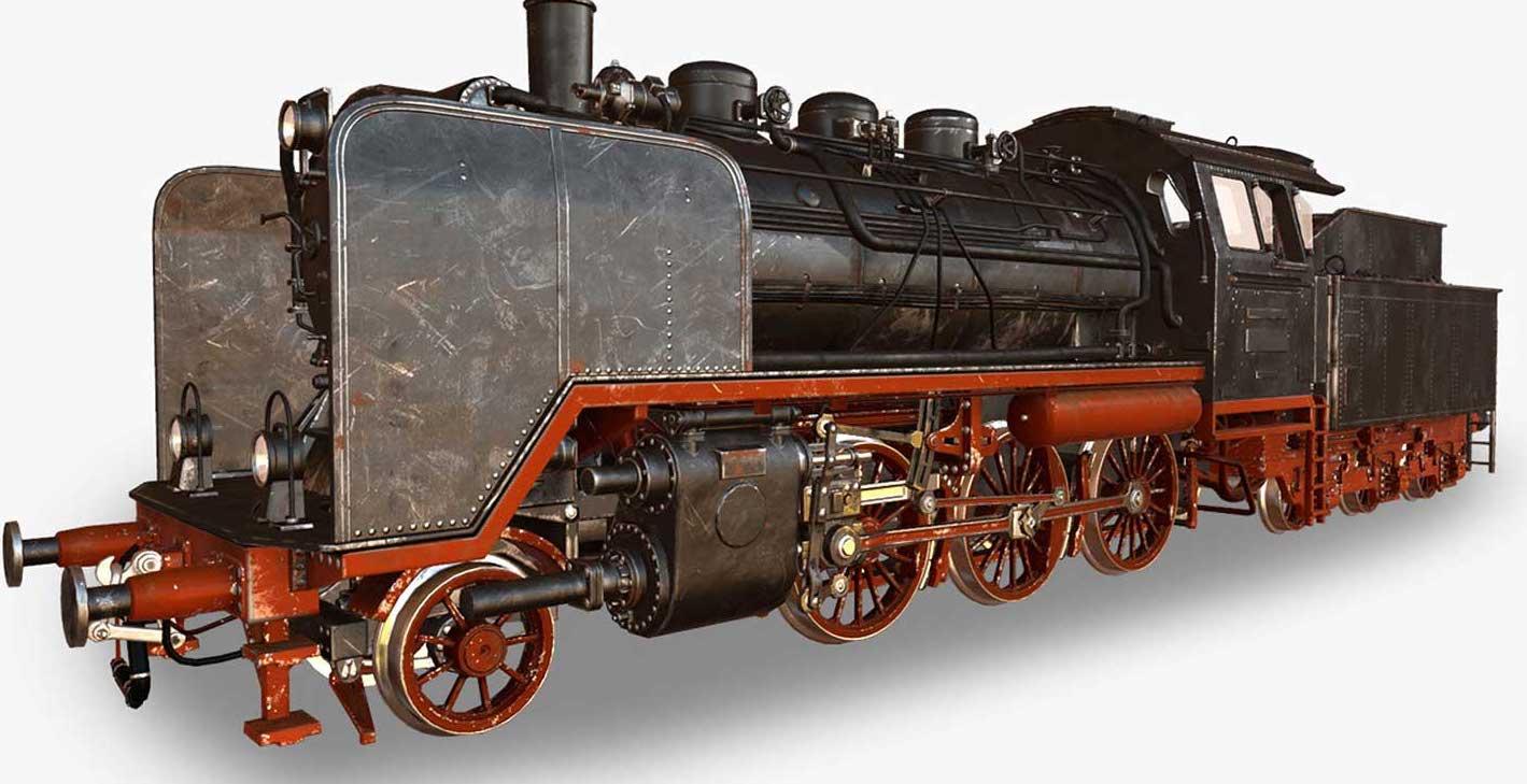 Animated AR Locomotive 3