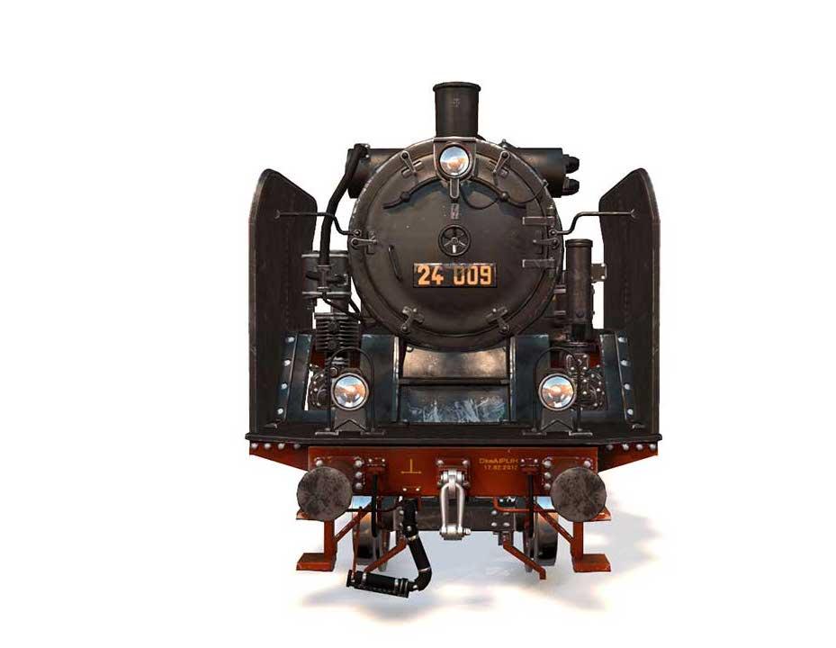 Animated AR Locomotive 4