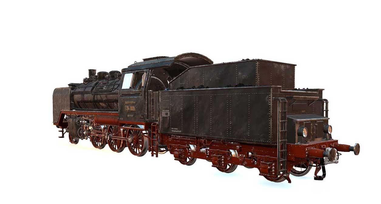 Animated AR Locomotive 5